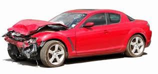 car paint accident