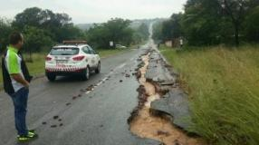 rain and road