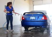 Penang car wash blues sierra glow in america we have these kind of do it yourself car washes they are not too bad the soap is a little sticky but you have a nice spray clean solutioingenieria Image collections